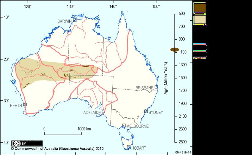 Australia Map Provinces.October 2010 Lip Of The Month Large Igneous Provinces Commission